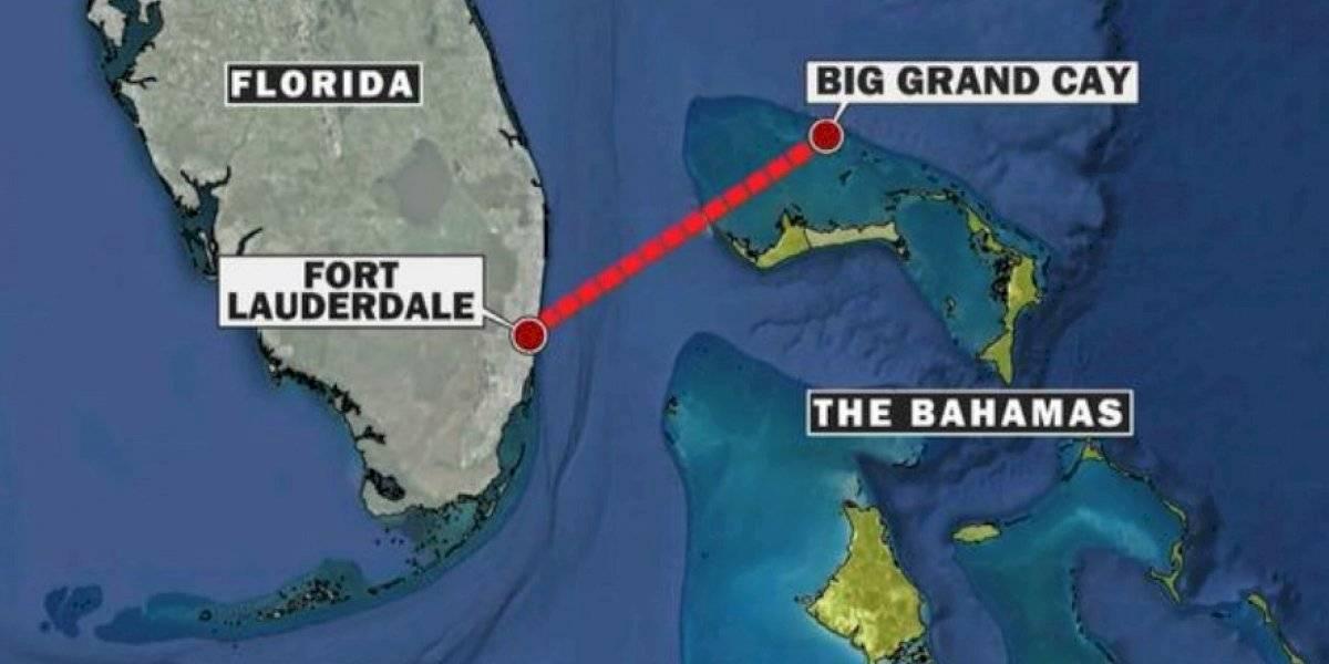 Fallecen 7 estadounidenses tras estrellarse helicóptero en Bahamas
