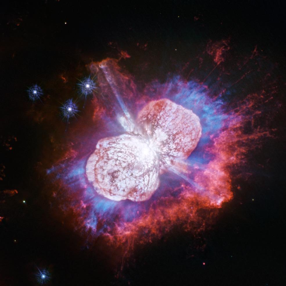 Observa la increíble fotografía de esta estrella cuya erupción ha durado más de 170 años