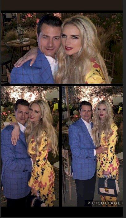 Tania Ruiz y Enrique Peña Nieto presumen su amor Instagram: Tania Ruiz