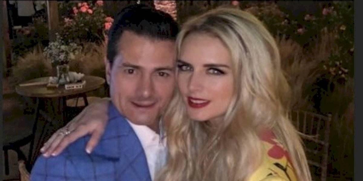 Enrique Peña Nieto impacta con romántico detalle a Tania Ruiz
