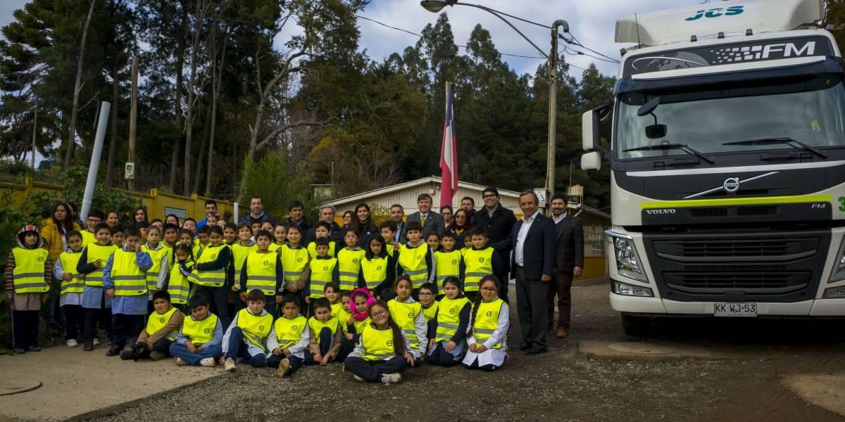 Volvo Chile lleva su programa de educación vial a Concepción