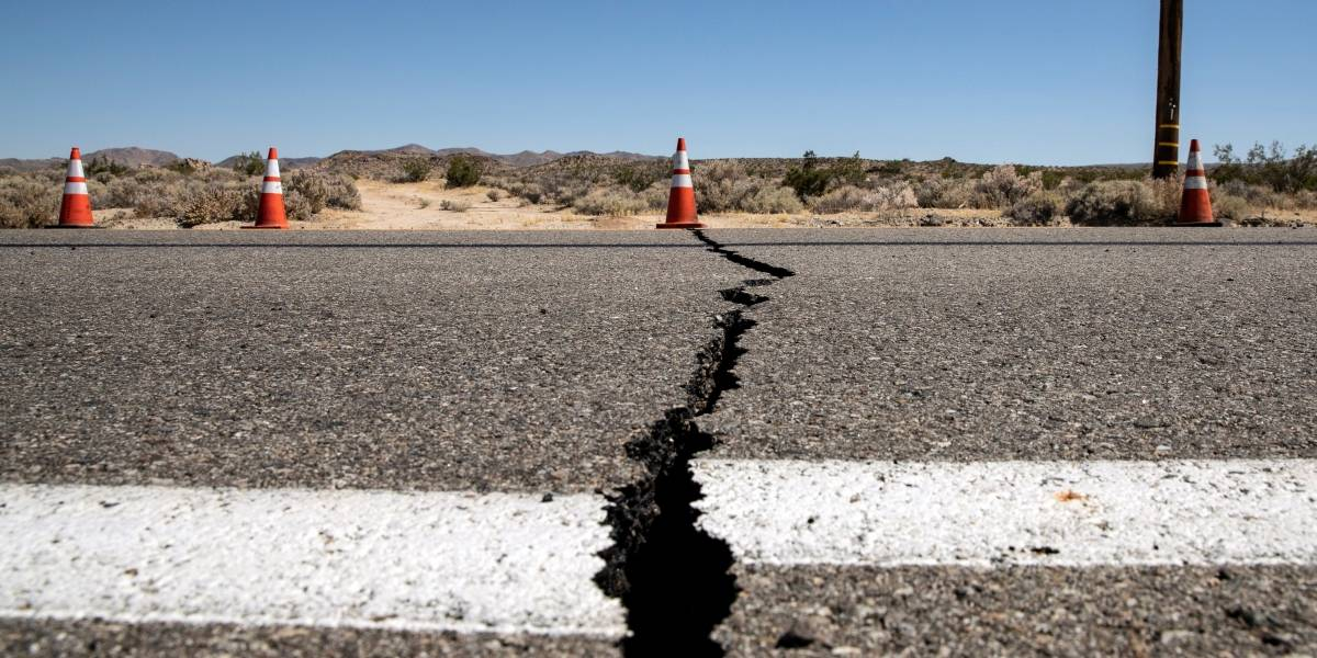 Imágenes impactantes del sismo de 7.1 en California