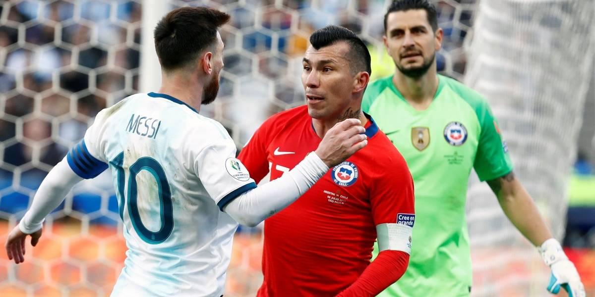 Copa América: Messi y Medel fueron expulsados tras altercado