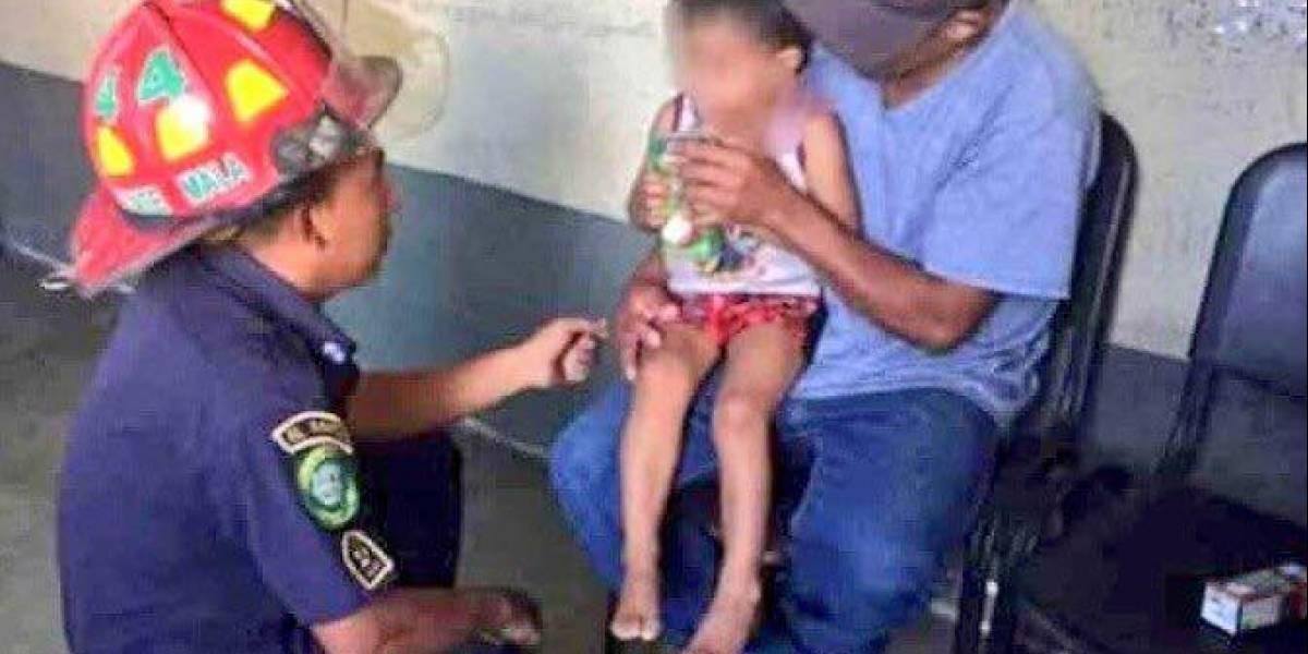 Rescatan a niño de dos años que fue secuestrado hace dos días en El Progreso