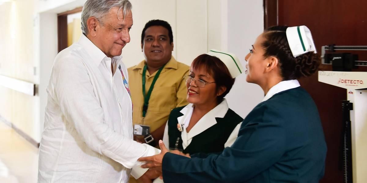 López Obrador continuará su recorrido por hospitales de Chiapas