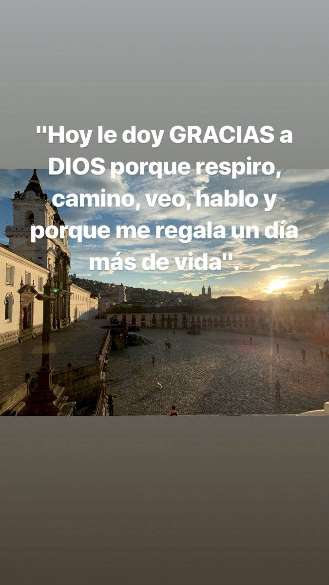 Así reseñó Antonio Valencia la iglesia donde se casará este sábado Instagram
