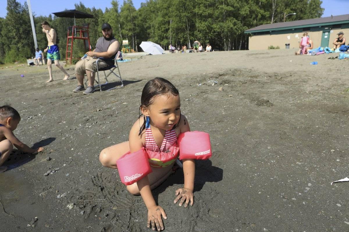 Ola de calor en Alaska Foto: AP