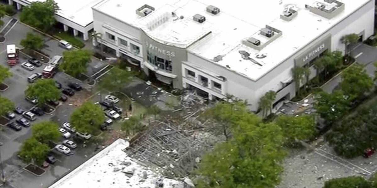 Mundo: Varios heridos en una explosión en un centro comercial de Florida