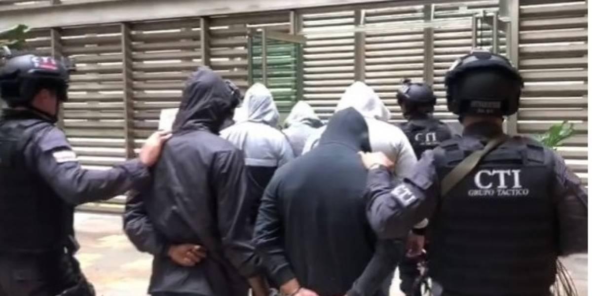 Cárcel a seis policías por secuestrar jíbaros en Medellín
