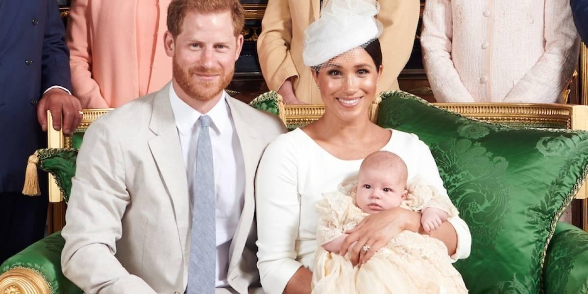 El bebé Archie, hijo de Meghan Markle y el príncipe Harry, se roba el corazón de sus seguidores