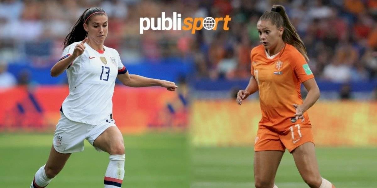Estados Unidos vs Holanda ¿dónde y a qué hora ver la final del Mundial Femenil?