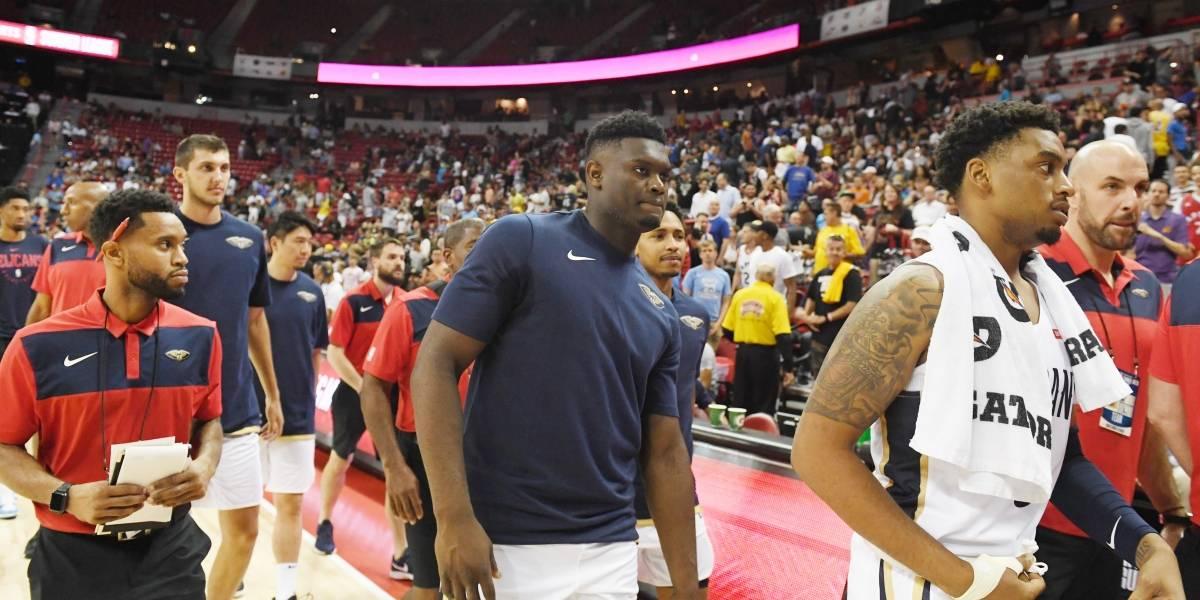 VIDEO: El momento del sismo durante partido de Pelicans vs Knicks