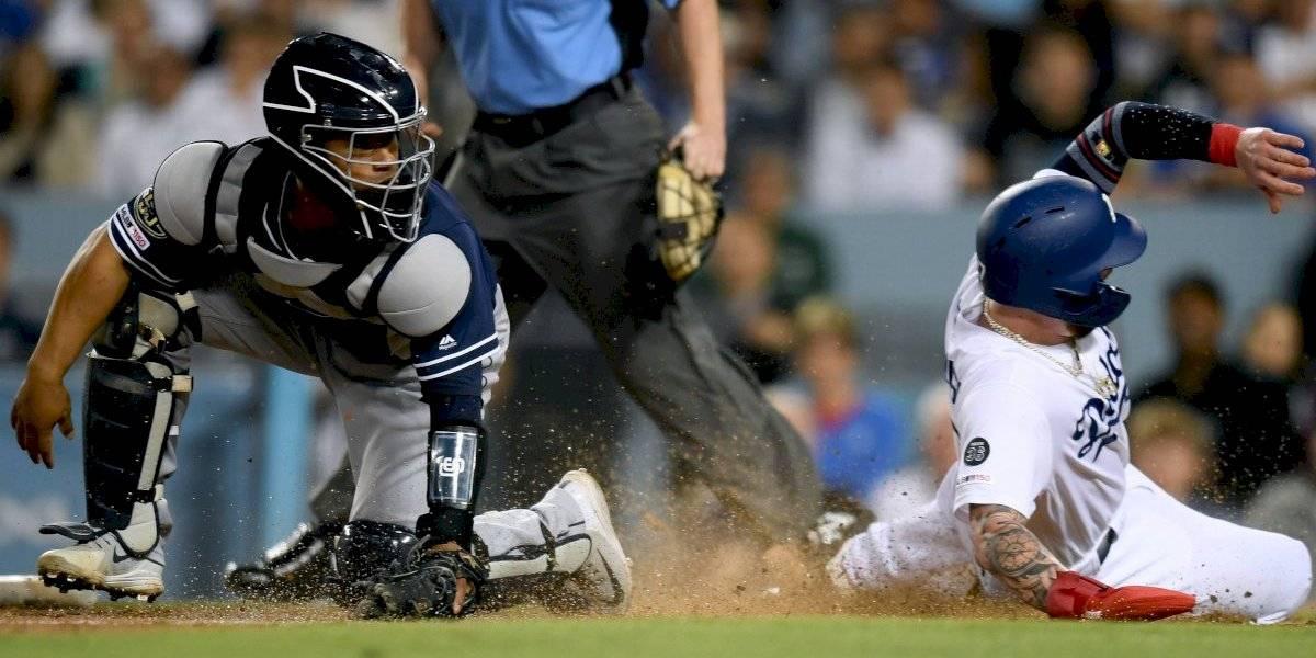 VIDEO: Temblor sorprende en el juego entre Dodgers y Padres