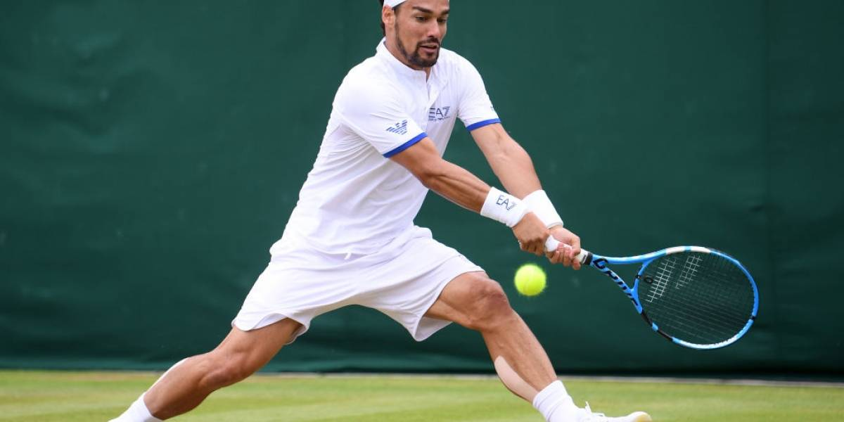 Fabio Fognini explota contra Wimbledon: