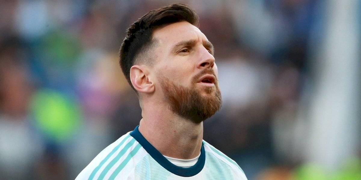 Como protesta, Messi no sale a recoger su medalla en la Copa América