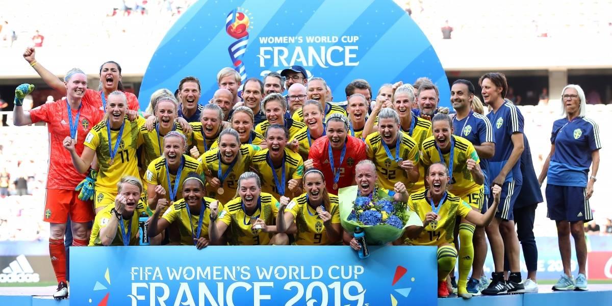 Suécia vence Inglaterra e fica com o 3º lugar da Copa feminina