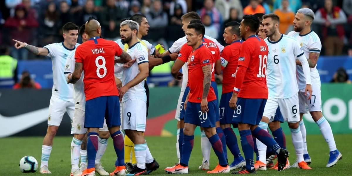 Chile no pudo con Argentina y quedó cuarto en la Copa América 2019 en un partido polémico de arbitraje desastroso