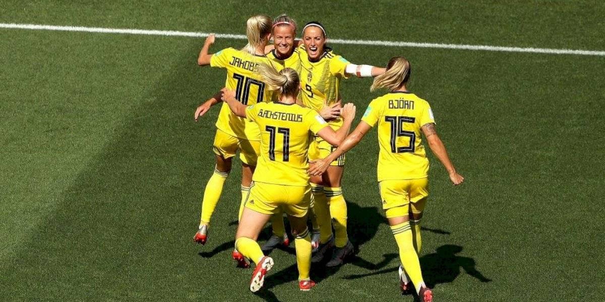 Suecia derrotó a Inglaterra y se quedó con el tercer lugar del Mundial femenino