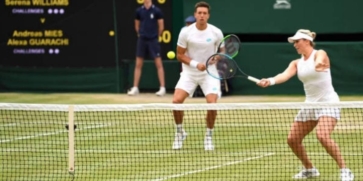 Alexa Guarachi perdió en un partido histórico ante Serena Williams y Andy Murray en el dobles mixto de Wimbledon
