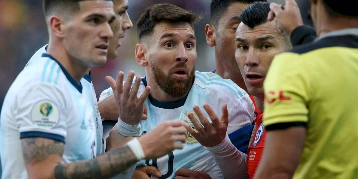 Messi argumenta que sufrió 'estrés emocional' para evitar sanción de la Conmebol