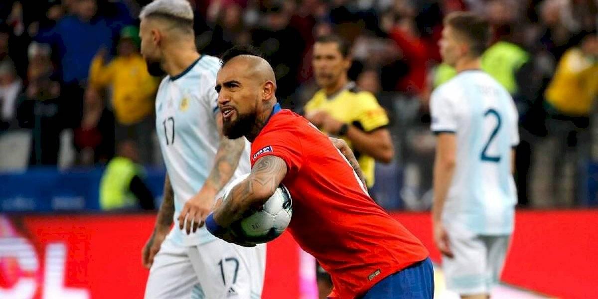 Así vivimos la derrota de Chile ante Argentina por el tercer lugar de la Copa América