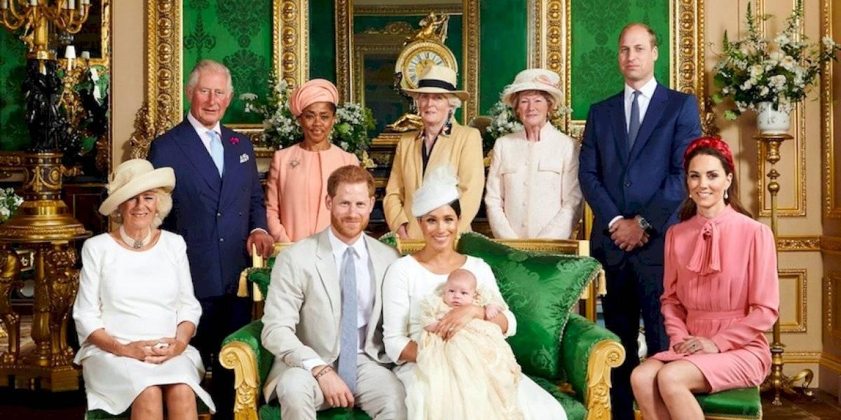 Bautizan a Archie, el bebé de la realeza británica, en ceremonia privada