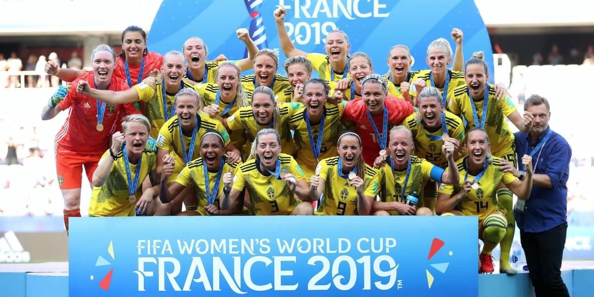 Suecia se queda con el tercer puesto del Mundial Femenil