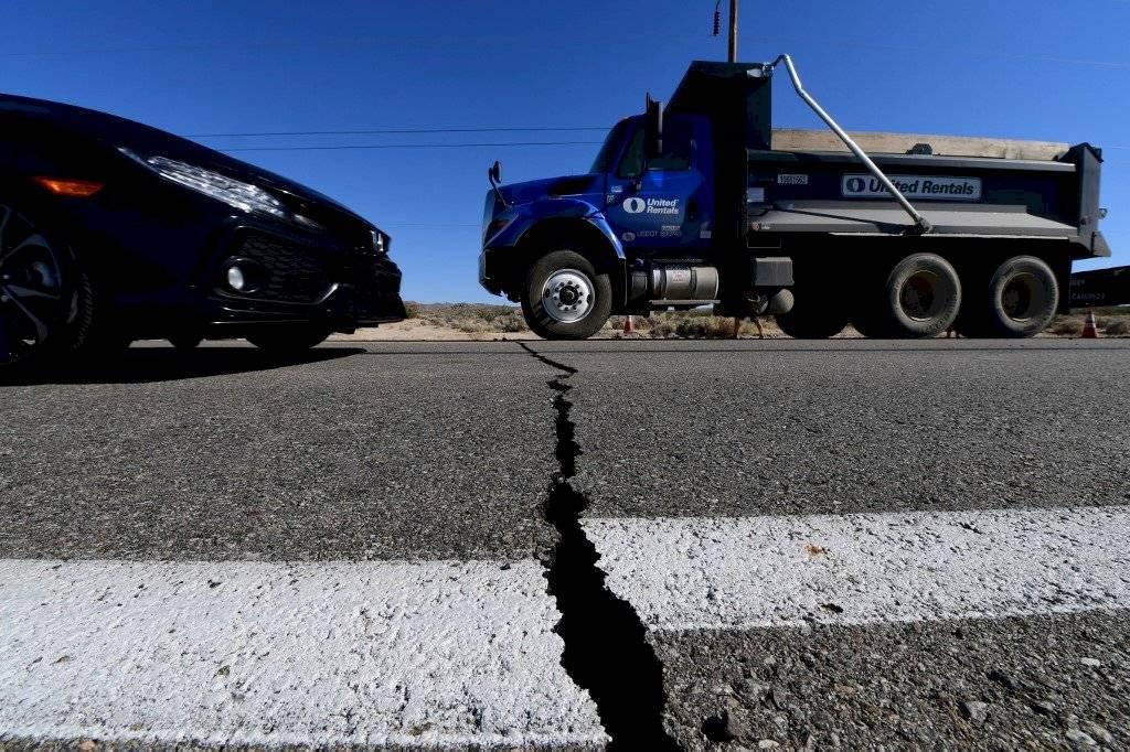 Temblor en California