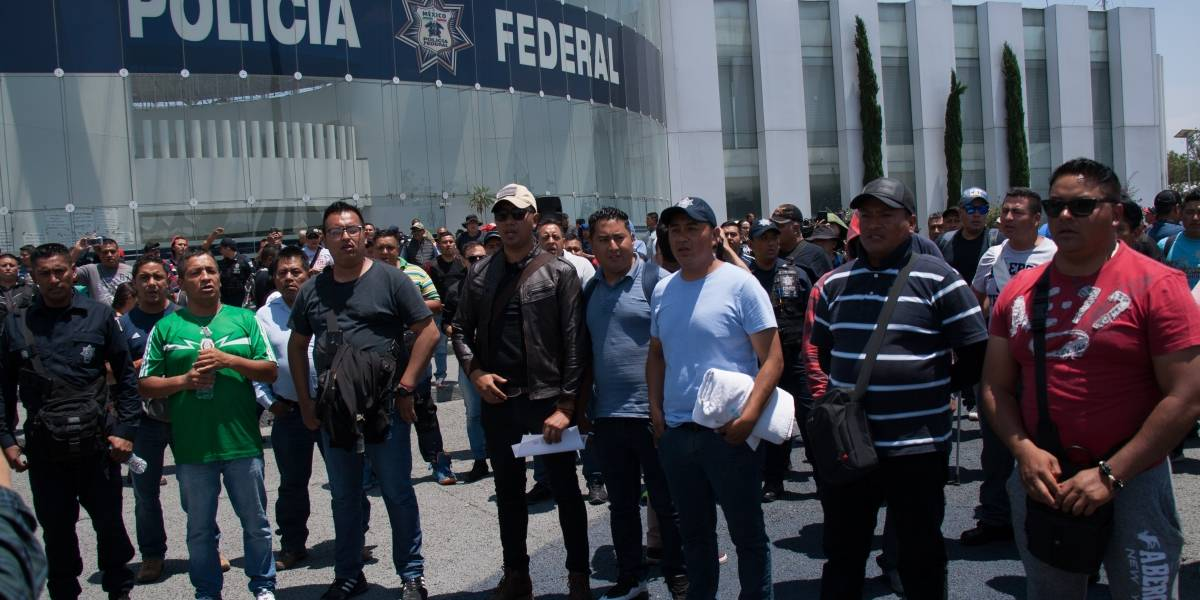 Mario Delgado pide no ceder a chantajes e indisciplinas de la Policía Federal