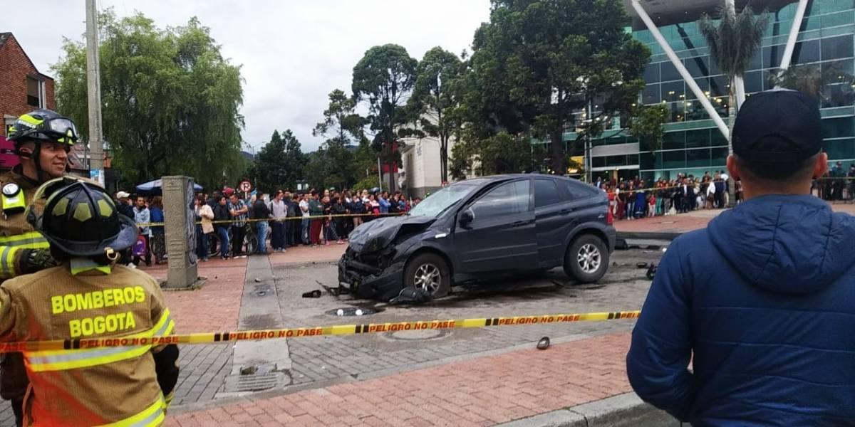 Las contradicciones del accidente de Niza en Bogotá que dejó dos muertos