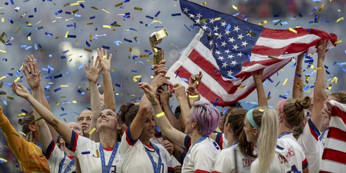 Estados Unidos es el bicampeón de la Copa Mundial Femenina
