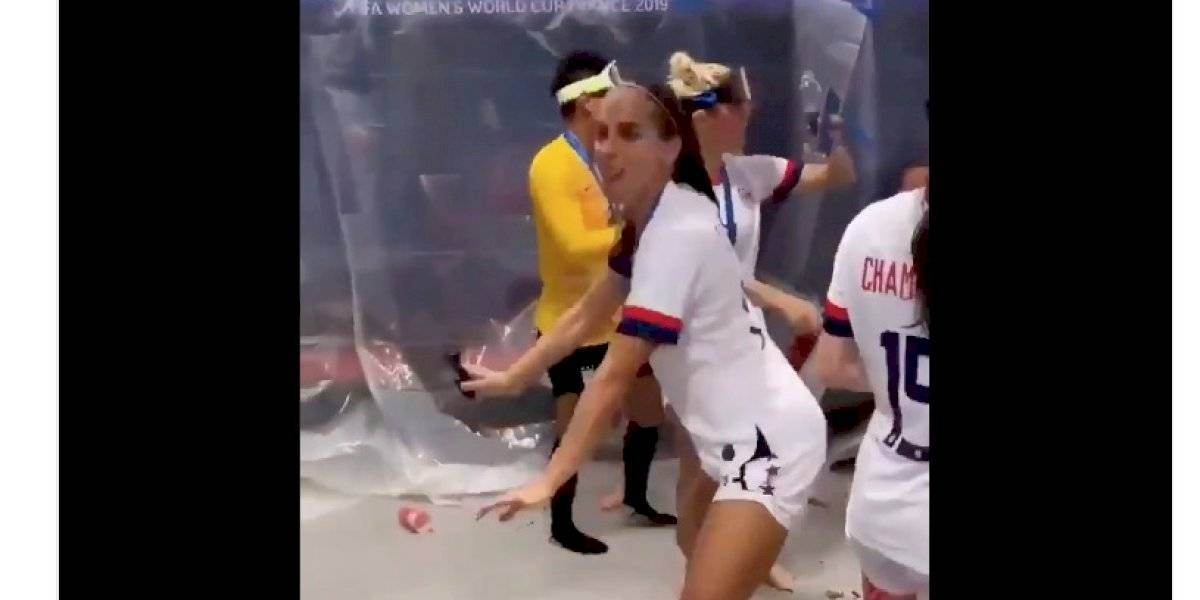 VIDEO. El provocativo baile de Alex Morgan que hace delirar a la afición