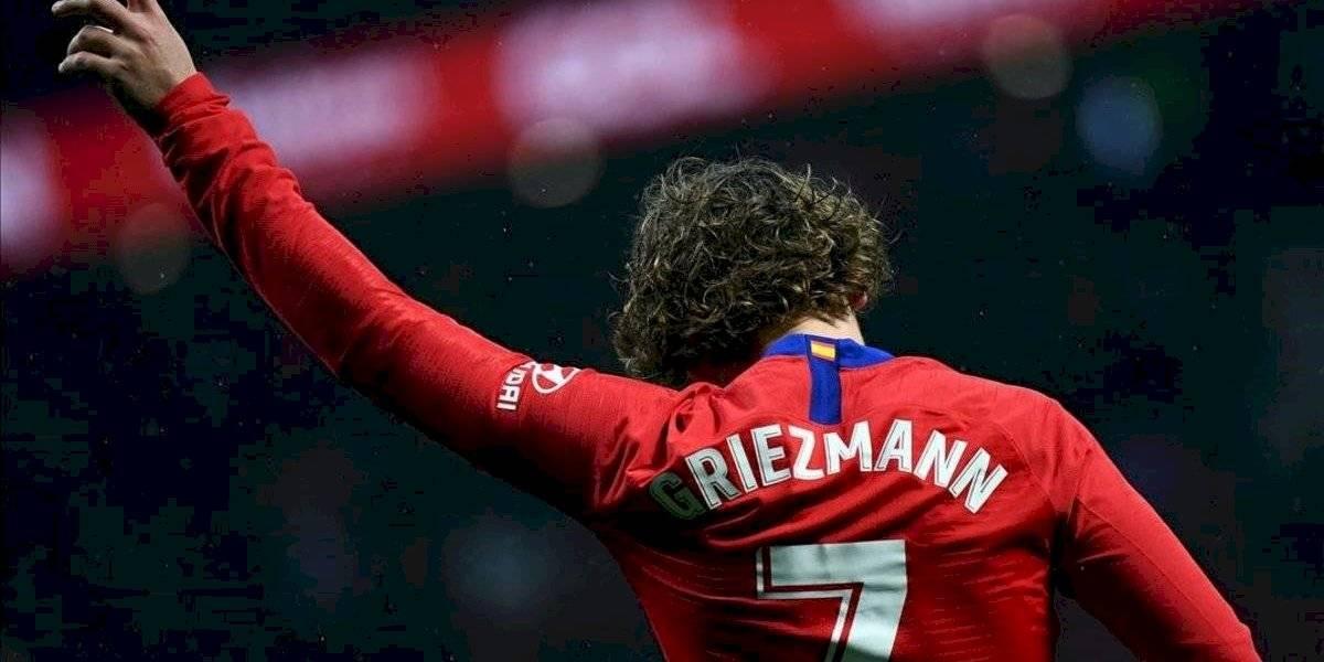 Antoine Griezmann no asistió al entrenamiento del Atlético de Madrid