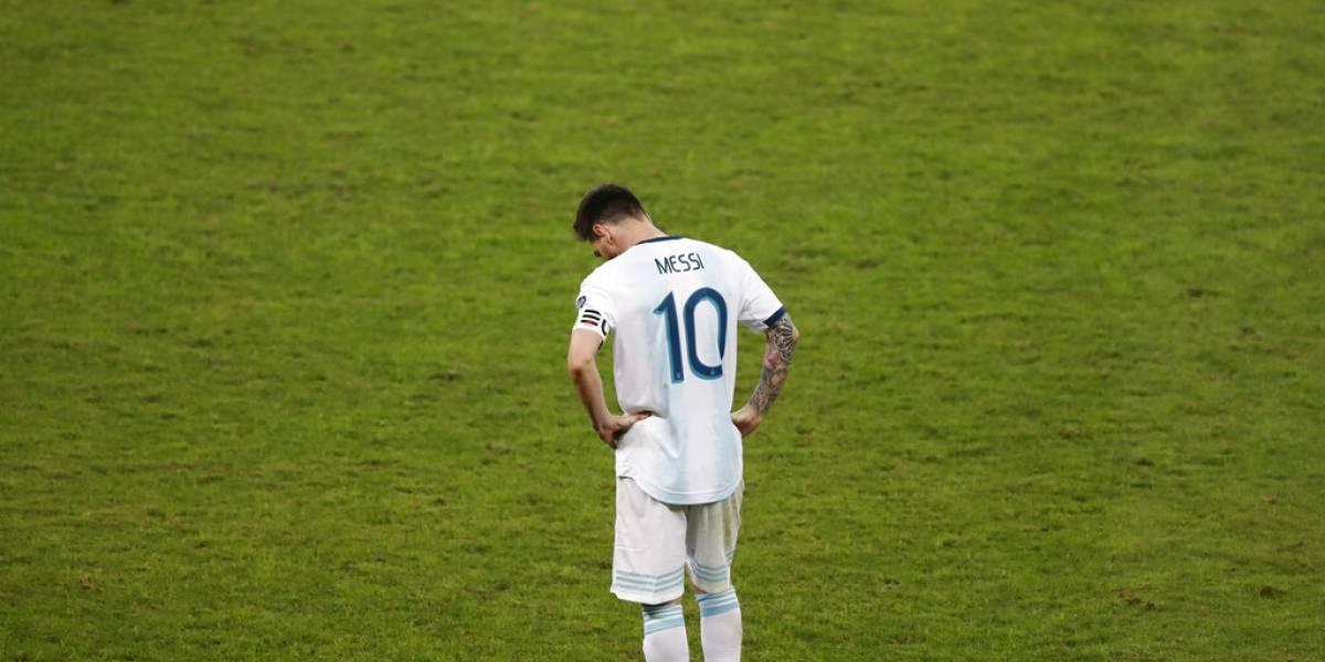 ¿Se atreverán? Reglamento de Conmebol dice que Messi podría ser suspendido hasta por dos años