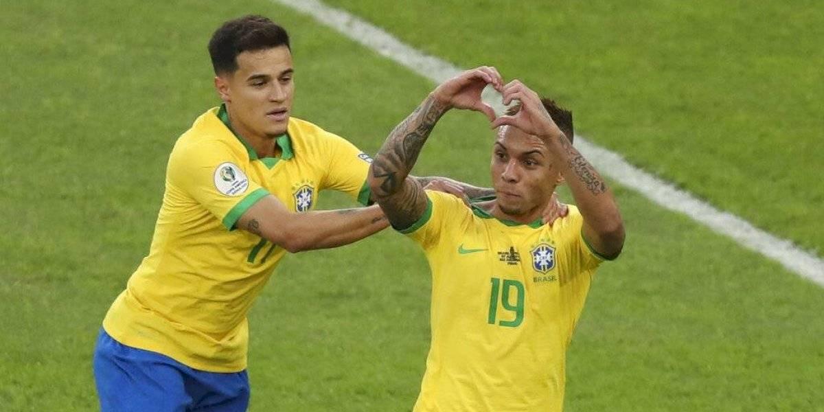 Con apenas tres goles: Everton y Paolo Guerrero fueron los máximos anotadores de la Copa América 2019