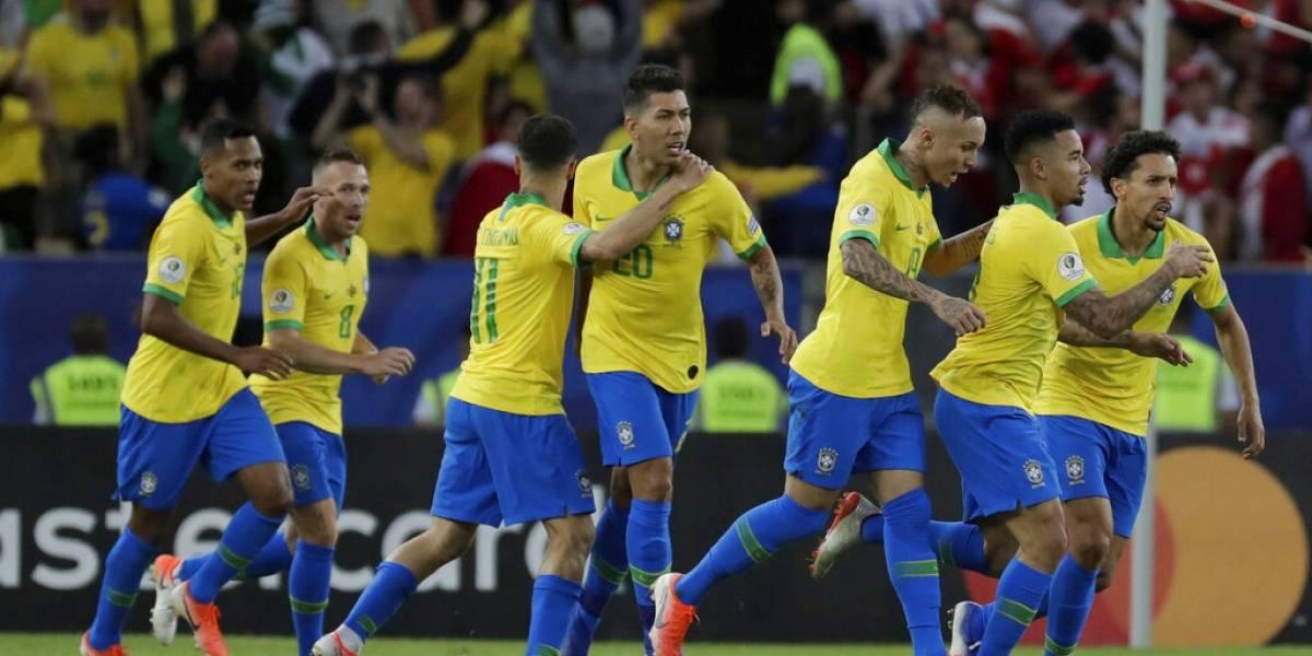 Uno a uno de Brasil ante Perú en la final de la Copa América: Everton y Gabriel Jesús brillaron en un sólido campeón