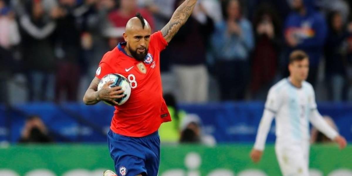 Arturo Vidal se une a las críticas sobre el arbitraje en la Copa América