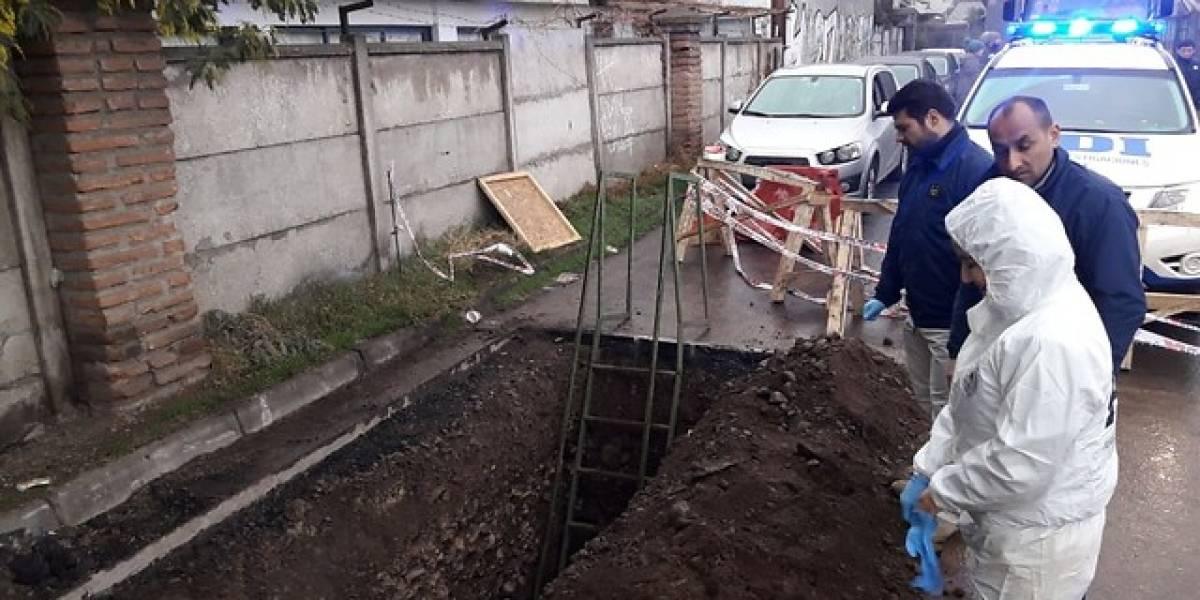 Encuentran osamentas humanas de hace cien años en Chillán Viejo