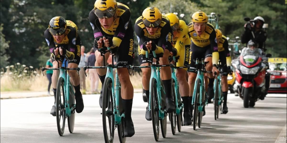 ¡Batacazo en en el Tour! El Team INEOS de Egan Bernal perdió la contrarreloj en el último suspiro