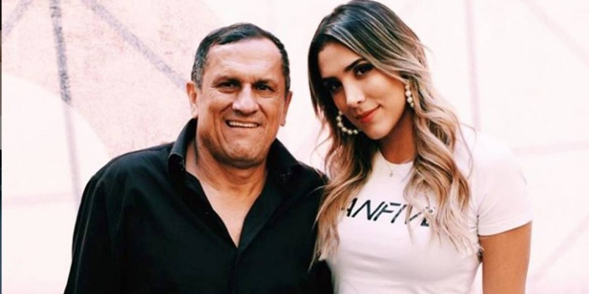 Sentido mensaje: Daniela Ospina se manifiesta tras la muerte de su padre