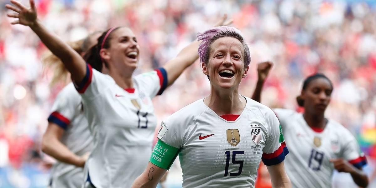 ¡Lo hicieron de nuevo! Estados Unidos venció a Holanda y revalidó su título en el Mundial Femenino