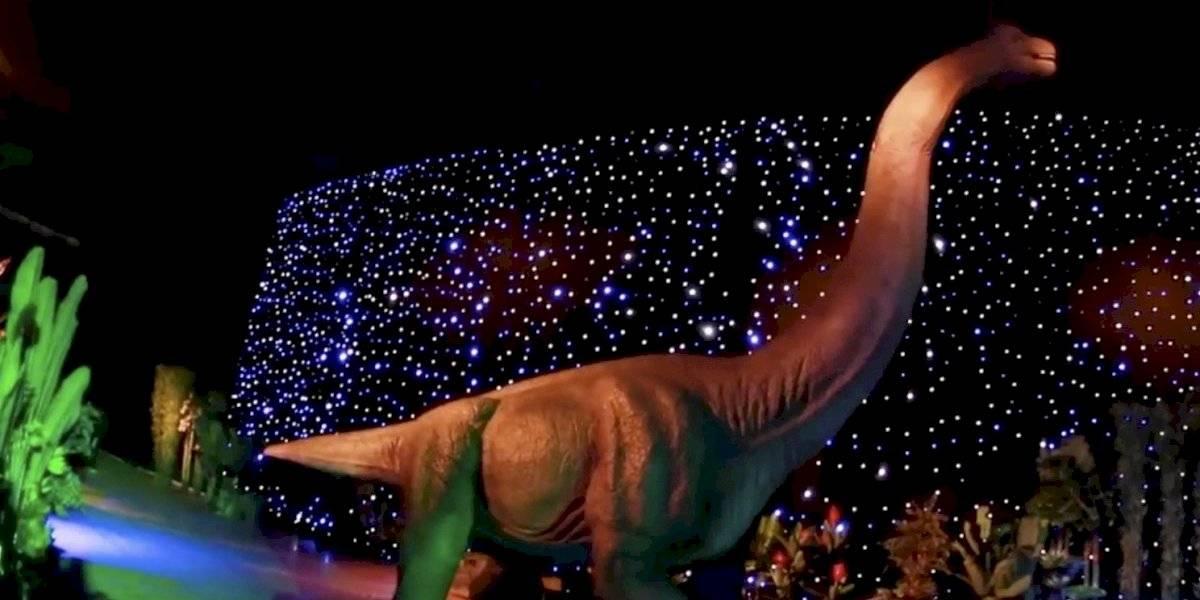 Dinosaurios Alive: Así es la aventura prehistórica robotizada que está en Estación Mapocho