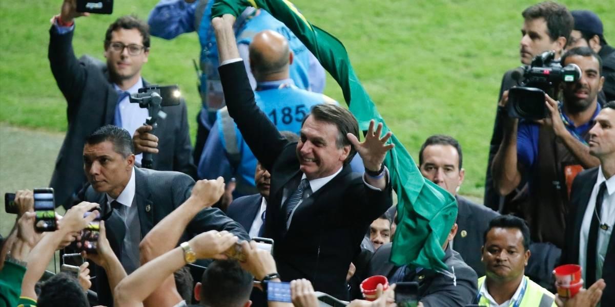 ¡Se la jugó! El presidente Bolsonaro entregó su pronóstico para la final de la Copa América