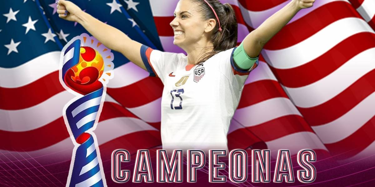 ¡Estados Unidos logra el tetracampeonato del Mundial Femenino!