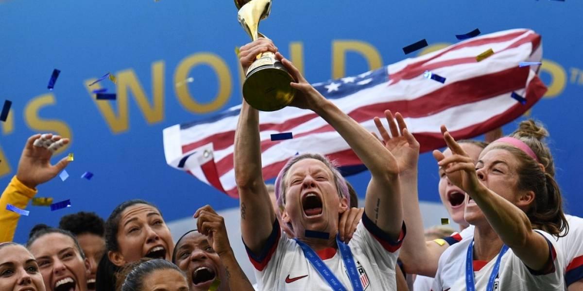 Estados Unidos se proclama bicampeón en futbol femenino