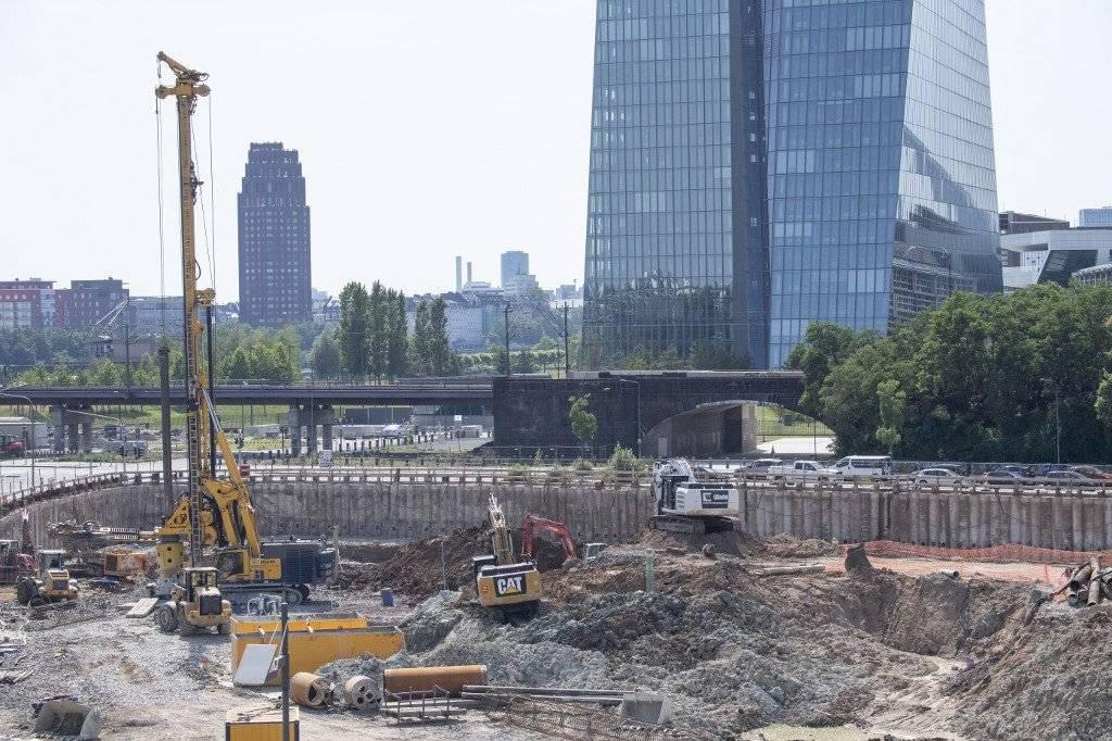 Bomba hallada en Frankfurt