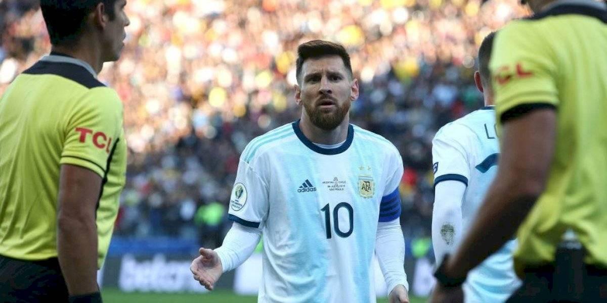 """""""Es inaceptable"""": La respuesta de Conmebol a Messi tras sus polémicas declaraciones"""
