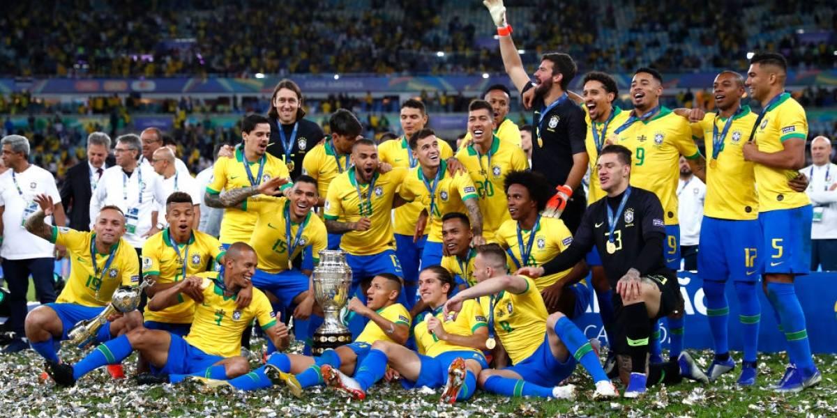 """""""Por escándalo"""": La tristeza de la prensa argentina por el título de Brasil en la Copa América 2019"""