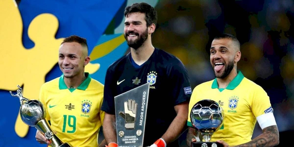 Canasta completa: Brasil se quedó con todos los premios de la Copa América 2019