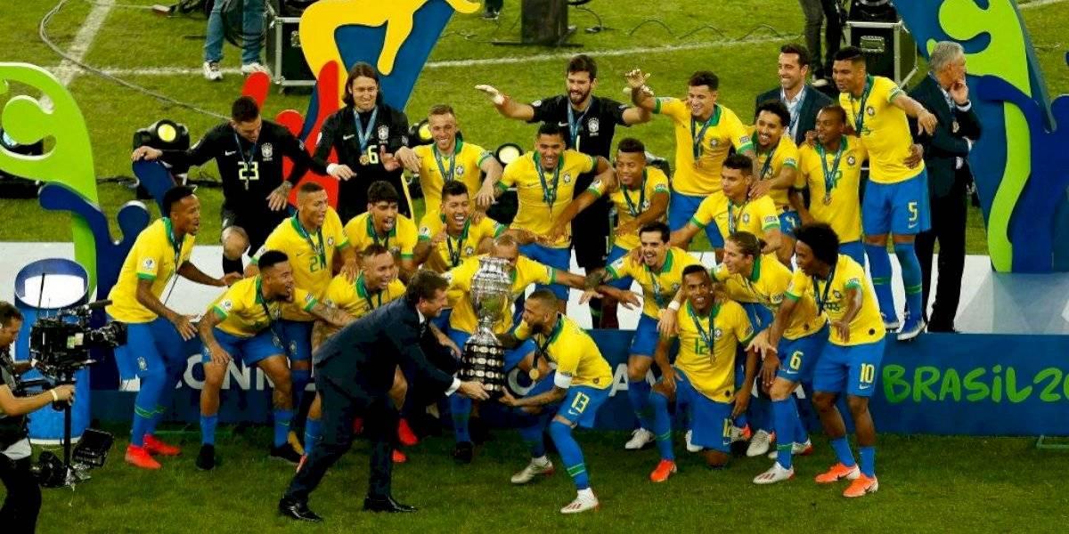 De la sorpresa Everton al interminable Dani Alves: Los pilares del Brasil campeón de Copa América